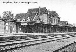 Tentoonstelling 100 jaar stationsgebouw Simpelveld