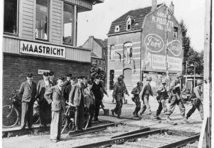 Oorlogsbronnen in Maastricht