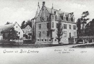 Terworm, kasteel